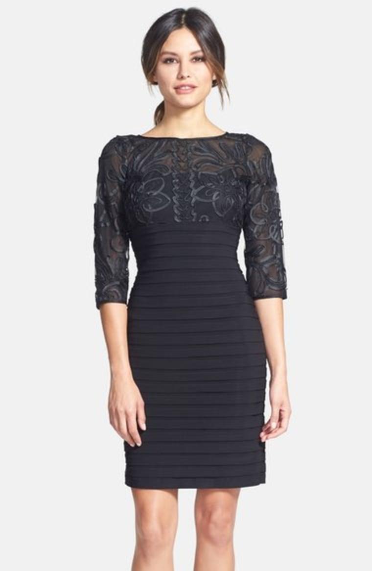 Adriana Papell Sutter Pleat Dress