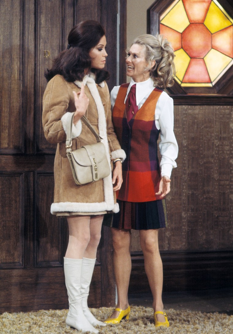 Mary Tyler Moore on the premiere episode of 'The Mary Tyler Moore Show'