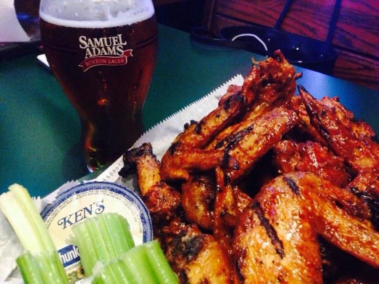 Sports Grill Miami Chicken Wings