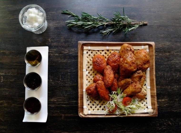 Turntable Chicken Jazz Chicken Wings in New York City