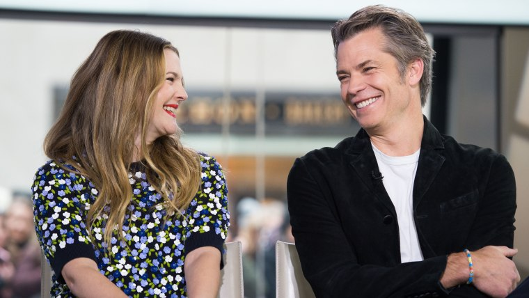 Drew Barrymore, Timothy Olyphant. TODAY, January 27th 2017.