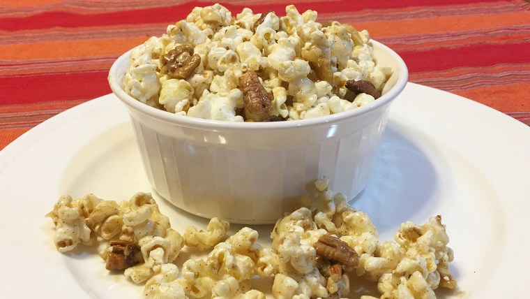 Joy Bauer's Baklava Popcorn