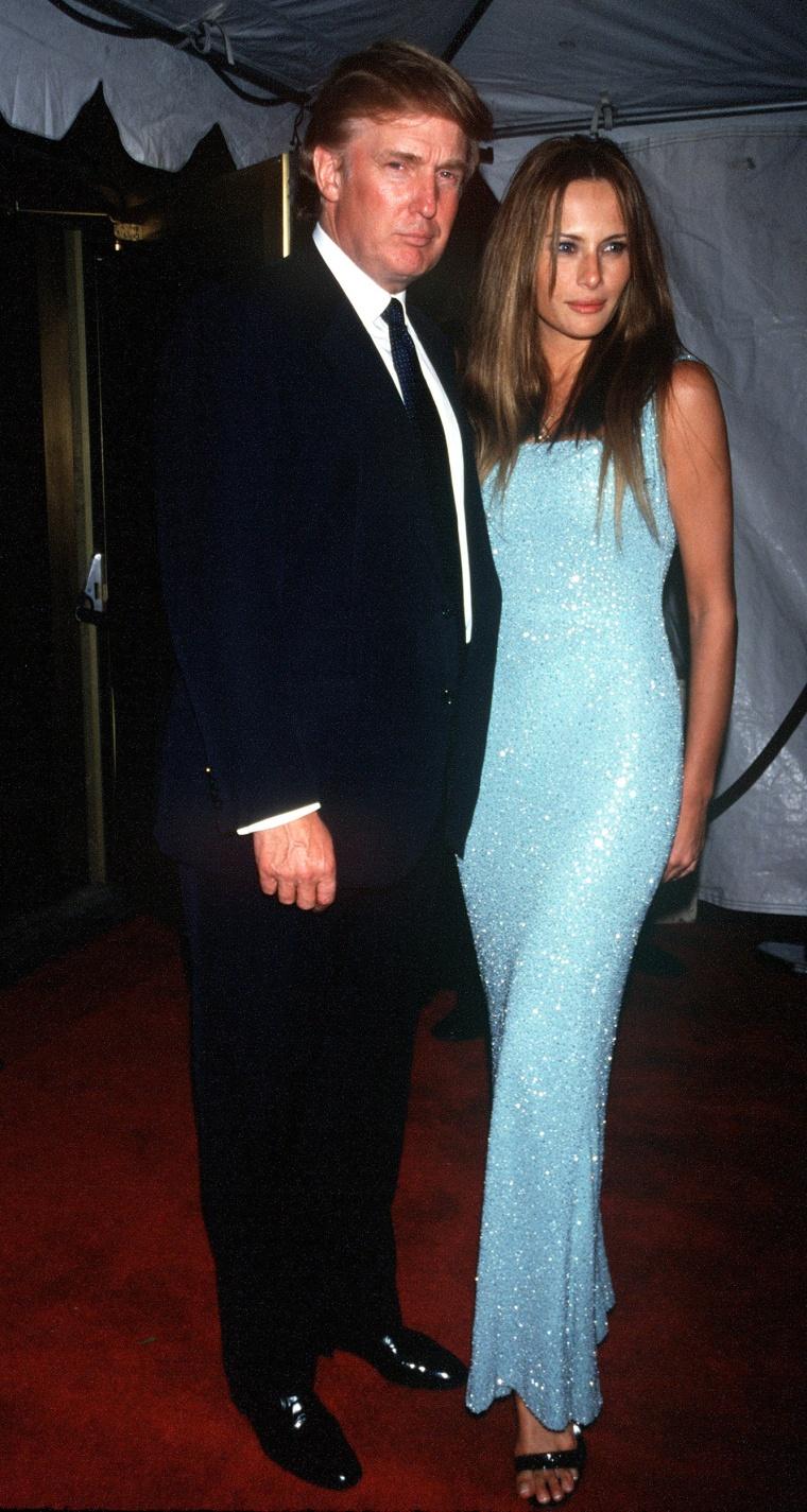 Donald Trump And Melanie Knauss
