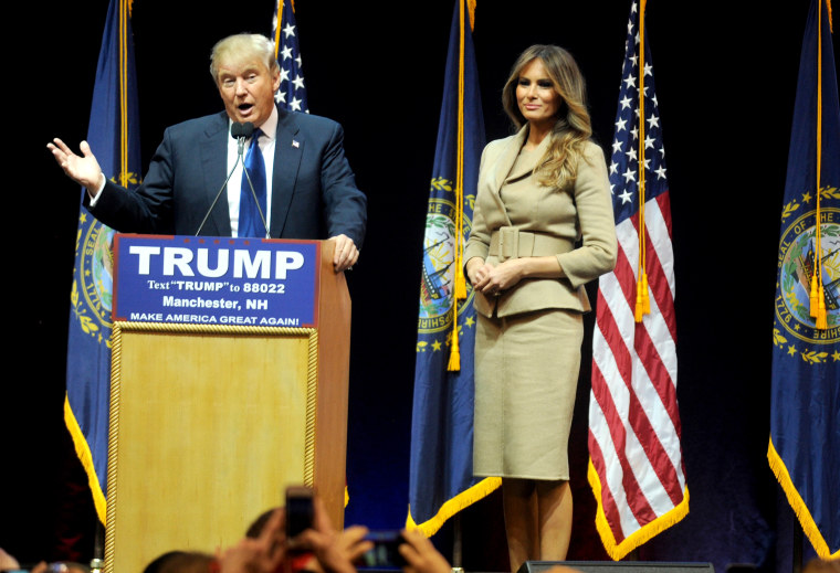 Donald Trump Campaign Rally - New Hampshire