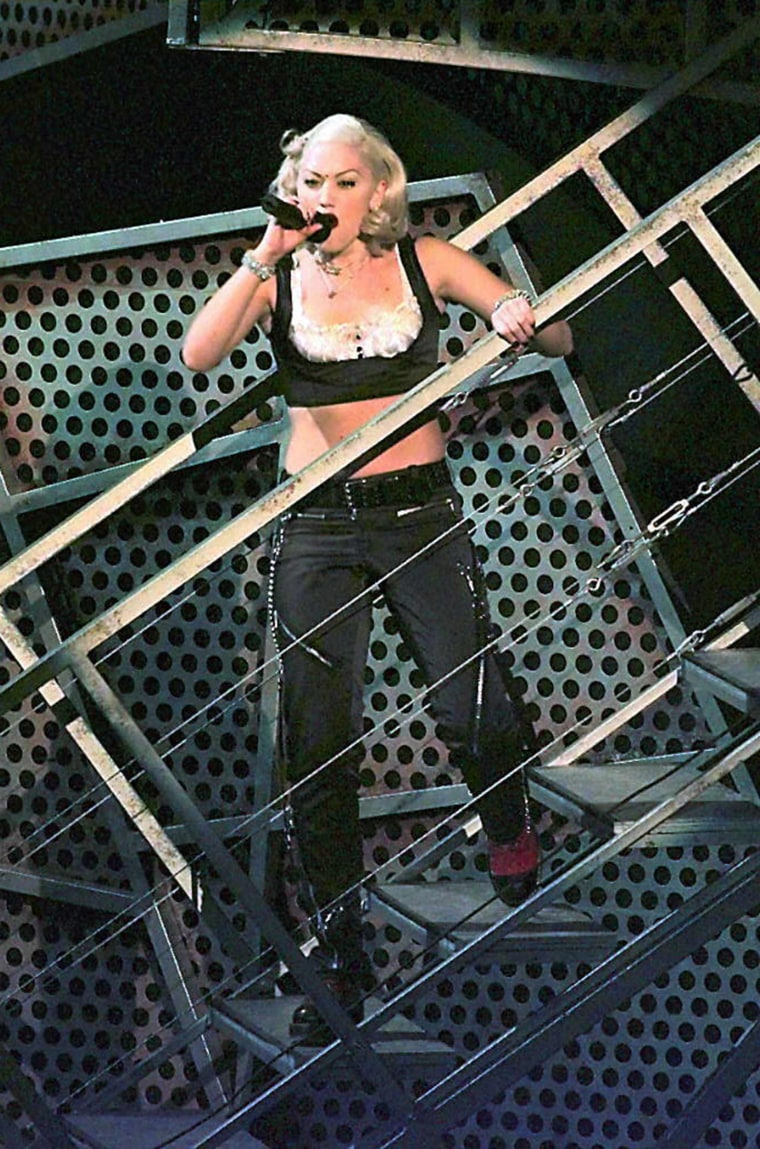 Gwen Stefani of No Doubt performs 26 February