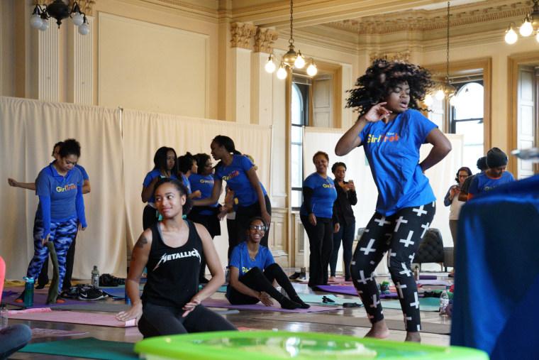 GirlTrek's day of #BlackGirlHealing