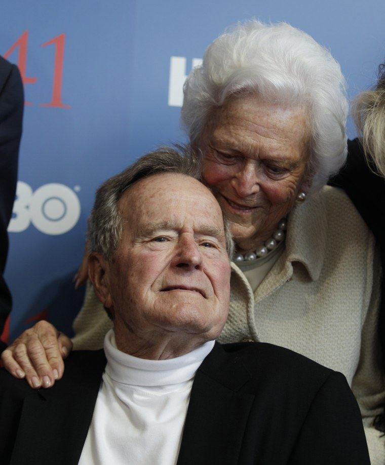 Image: George H.W. and Barbara Bush