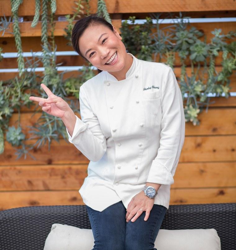 Shirley Chung, the executive chef at Twenty Eight in Orange County, California.