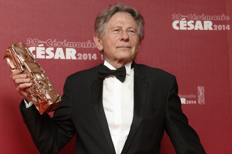 "Image: Roman Polanski won a Best Director award for ""La Venus A La Fourrure"" in 2014."
