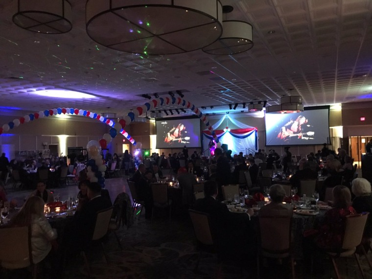"An image of the pro-Trump ""DeploraBall"" held January 20, 2017."