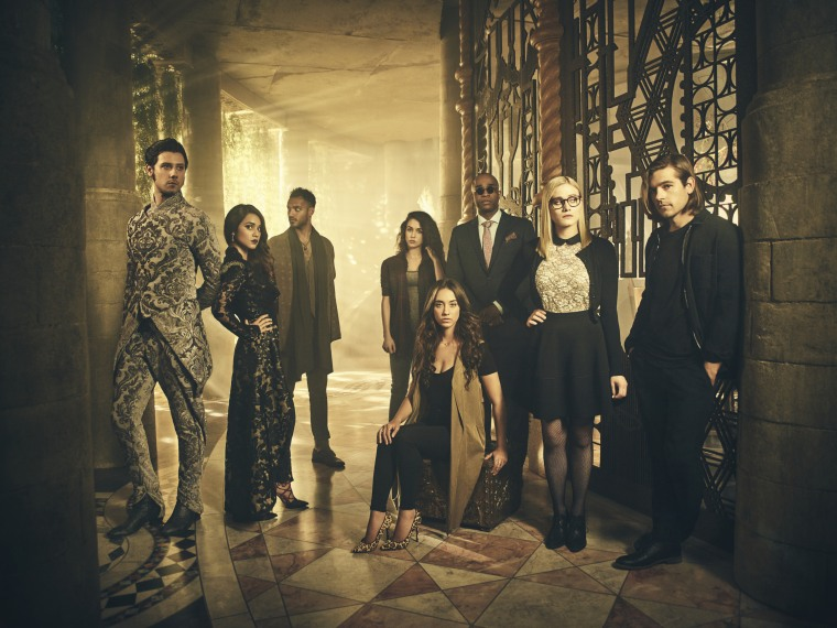"""The cast of Syfy's """"The Magicians"""""""