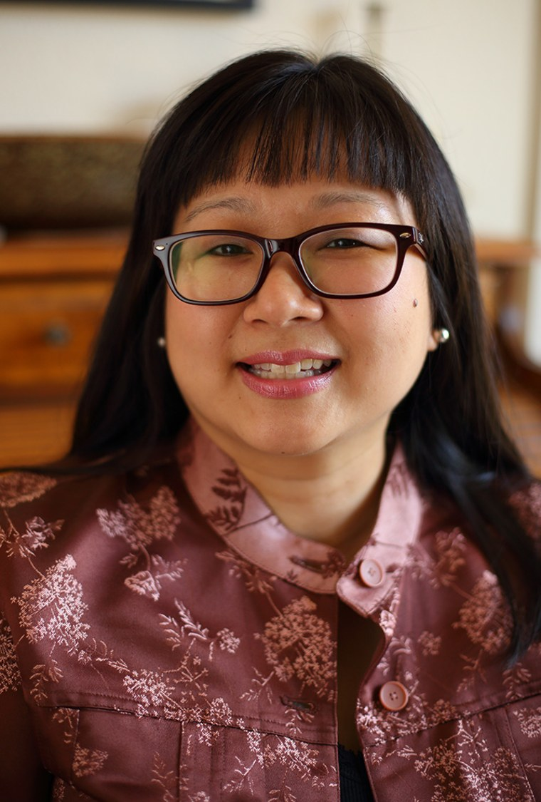 "Dr. Virginia Loh-Hagan, the author of ""PoPo's Lucky Chinese New Year"""