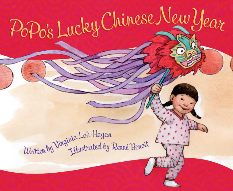 """""""PoPo's Lucky Chinese New Year"""" features a grandmother teaching her granddaughter holiday traditions."""
