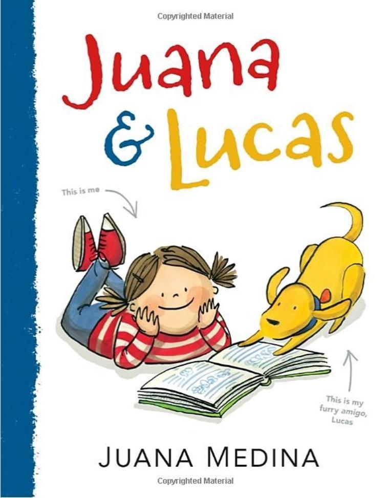 """""""Juana and Lucas"""" book cover"""