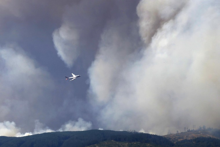 Image: CHILE-FOREST-FIRE
