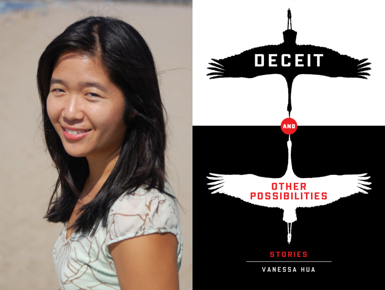 """Vanessa Hua's debut collection of short stories, """"Deceit and Other Possibilities,"""" has won the 2016 Asian/Pacific American Award for Literature"""