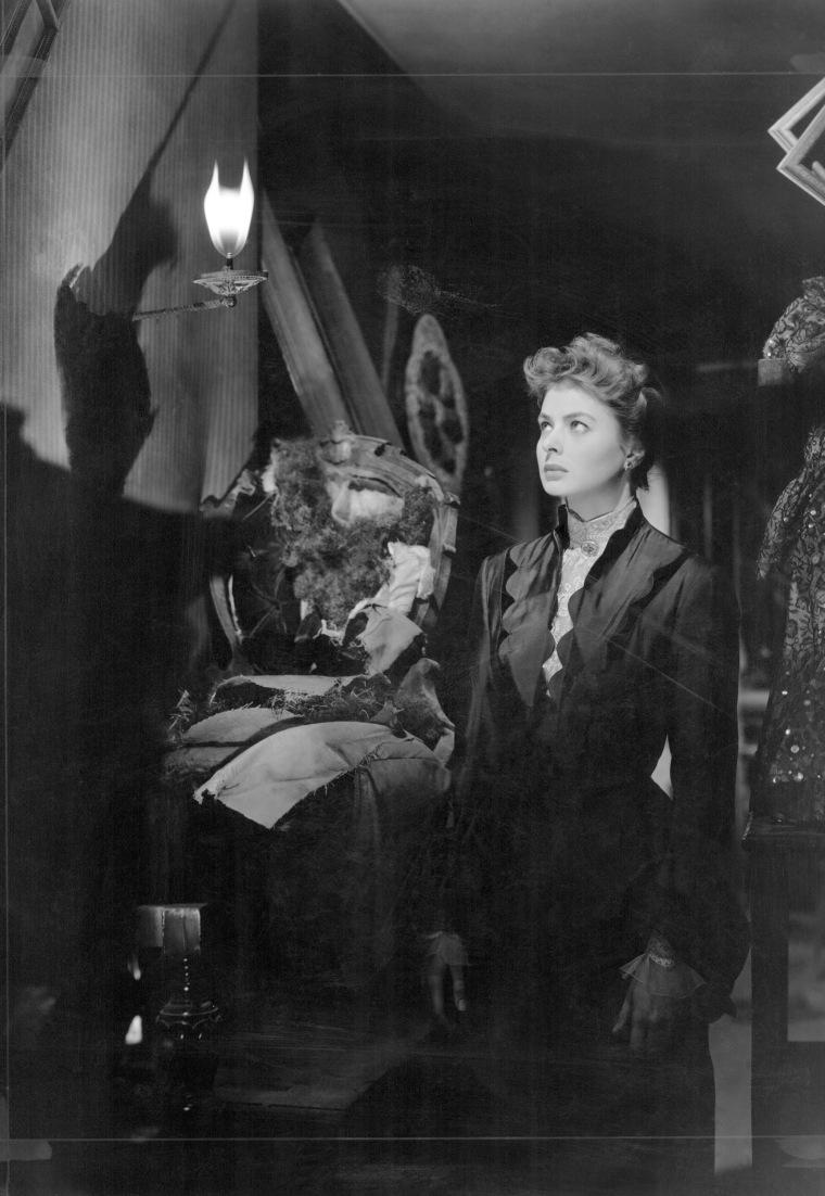 Image: Ingrid Bergman in a scene from the 1944 film Gaslight.