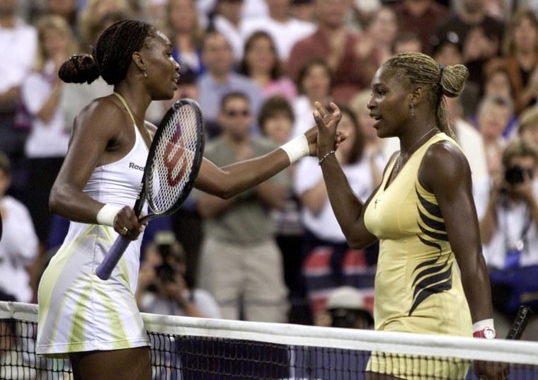 Image: Venus Williams Defeats Sister Serena In U.S. Open