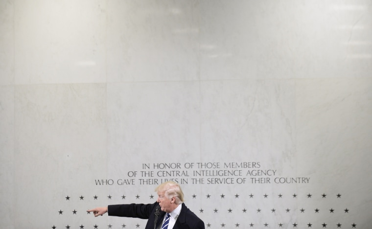Image: President Trump Speaks At CIA Headquarters