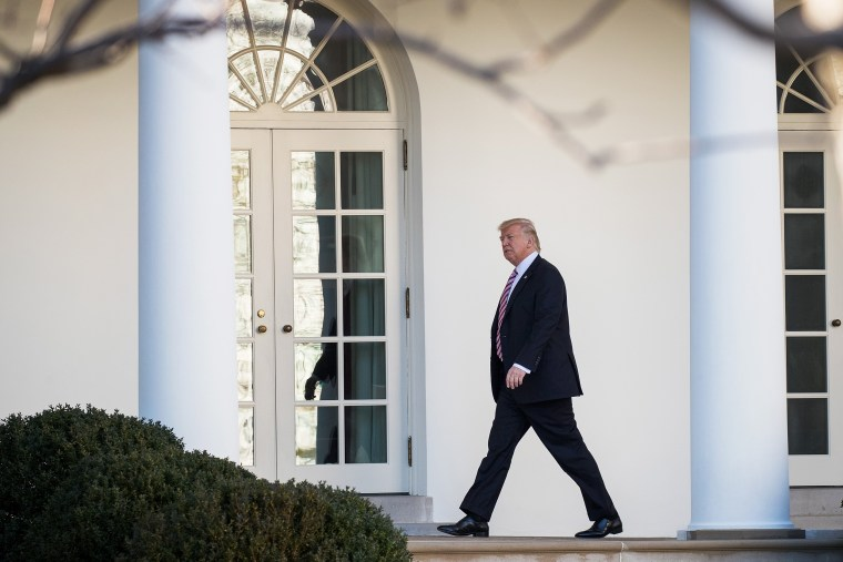 Image: President Trump Returns To The White House