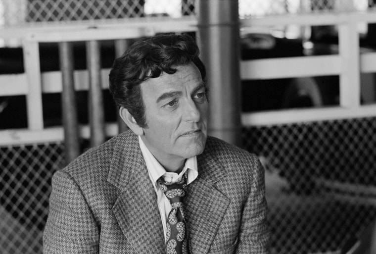 "Image: Mike Connors as Joe Mannix in the MANNIX episode, ""Deadly Affair,"" on Oct. 19, 1973."