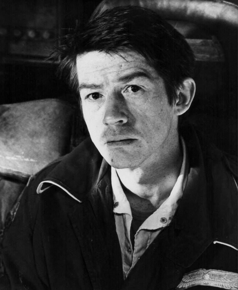 Image: Actor John Hurt, seen here as he appears in the movie 'Alien', in 1979.