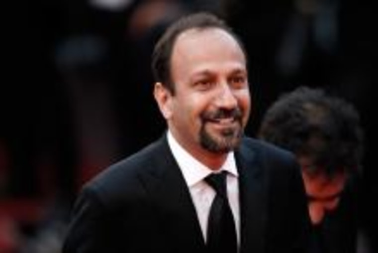 Director Asghar Farhadi attends the closing ceremony of the 69th annual Cannes Film Festival at the Palais des Festivals on May 22, 2016 in Cannes, France.