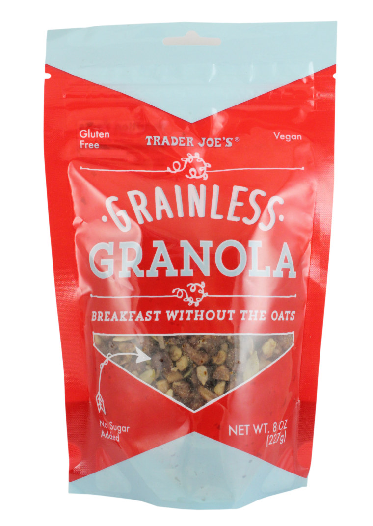Healthy Trader Joe's products: Grainless Granola