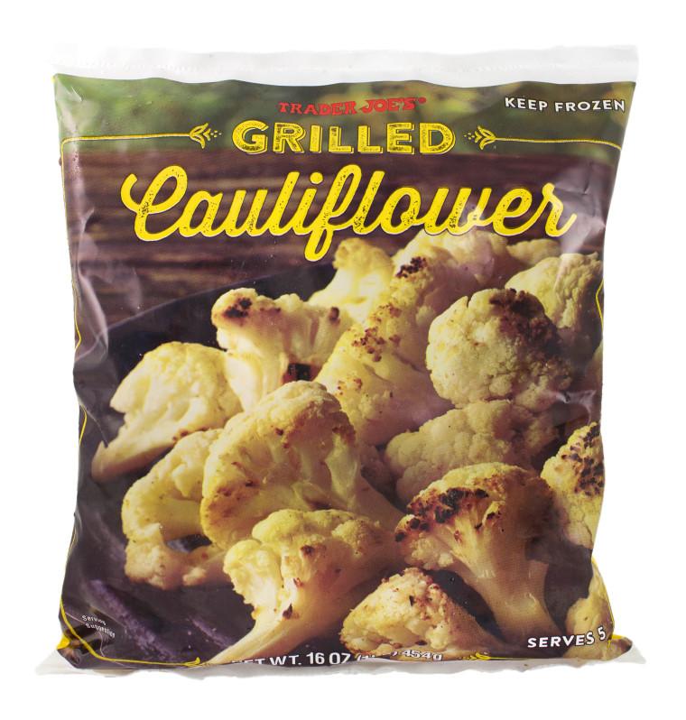 Best healthy product's at Trader Joe's: Frozen cauliflower
