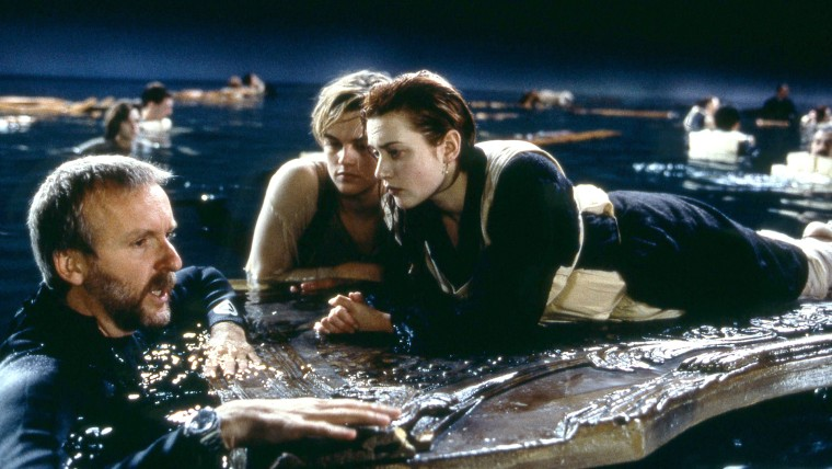 JAMES CAMERON LEONARDO DICAPRIO & KATE WINSLET TITANIC (1997)