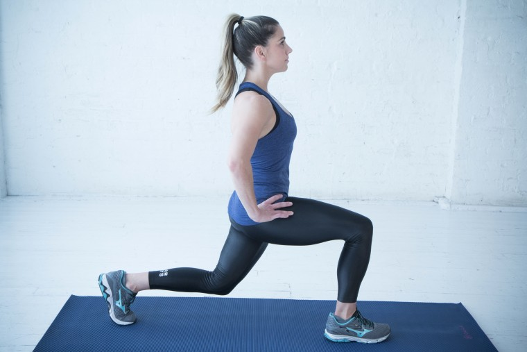Try this easy lower-body workout you can do anywhere
