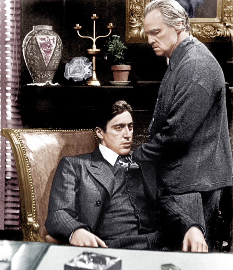 """""""The Godfather"""" dominated in the early 1970s."""