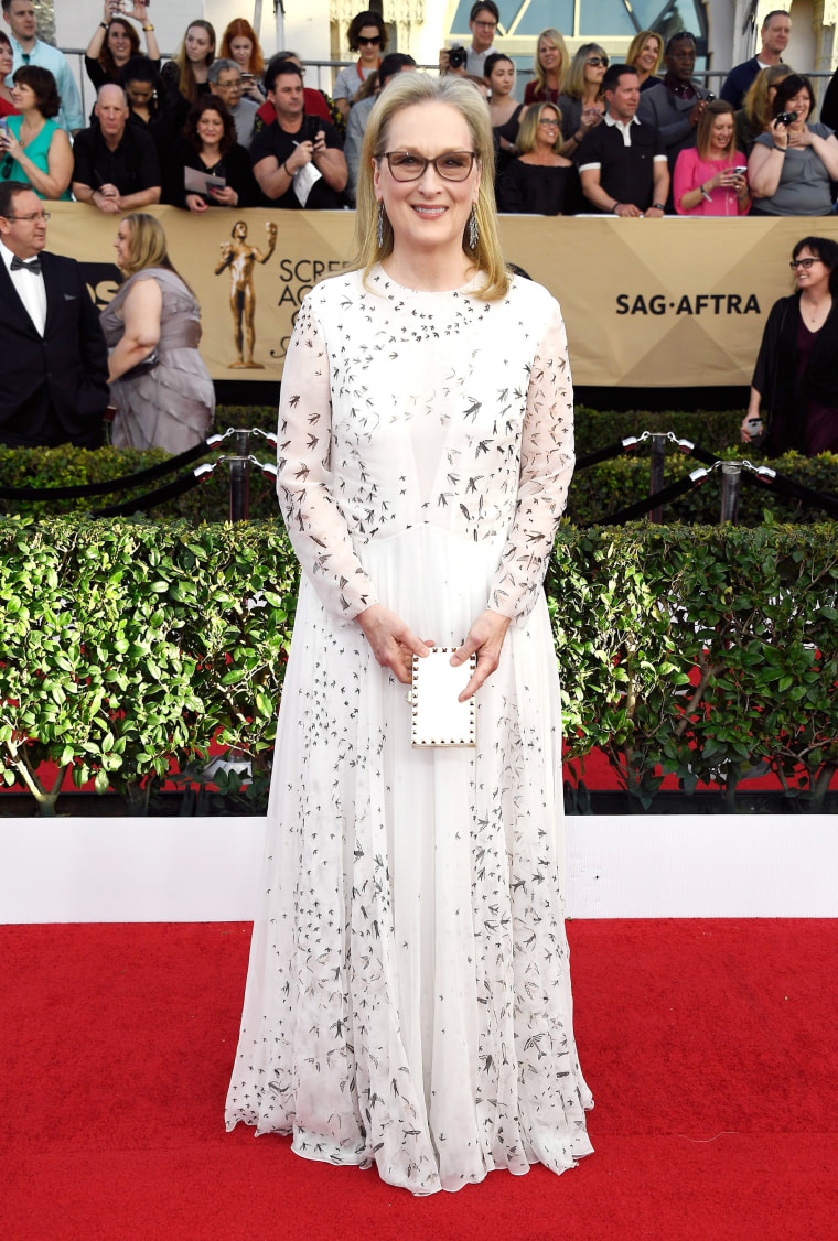 Actor Meryl Streep attends The 23rd Annual Screen Actors Guild Awards at The Shrine Auditorium on January 29, 2017 in Los Angeles, California.