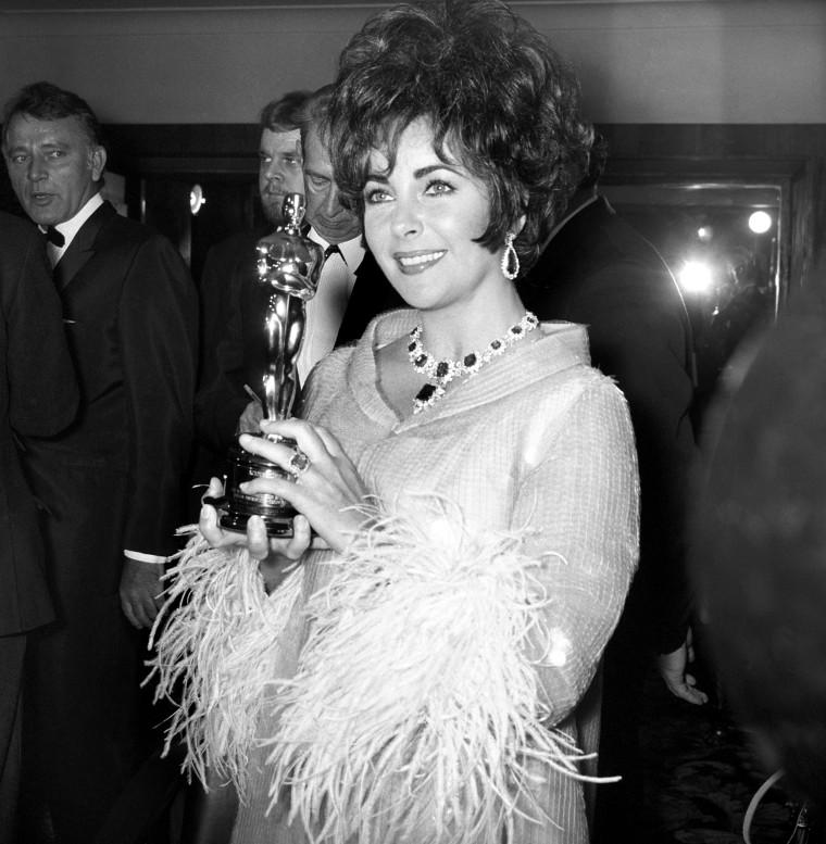 Elizabeth Taylor Oscars 1967
