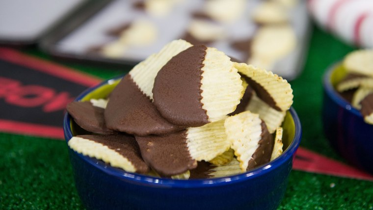 Chocolate-Covered Potato Chips