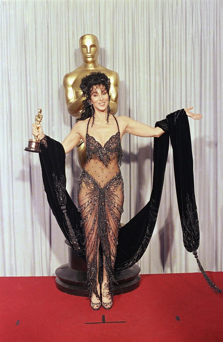 Cher Oscars 1988