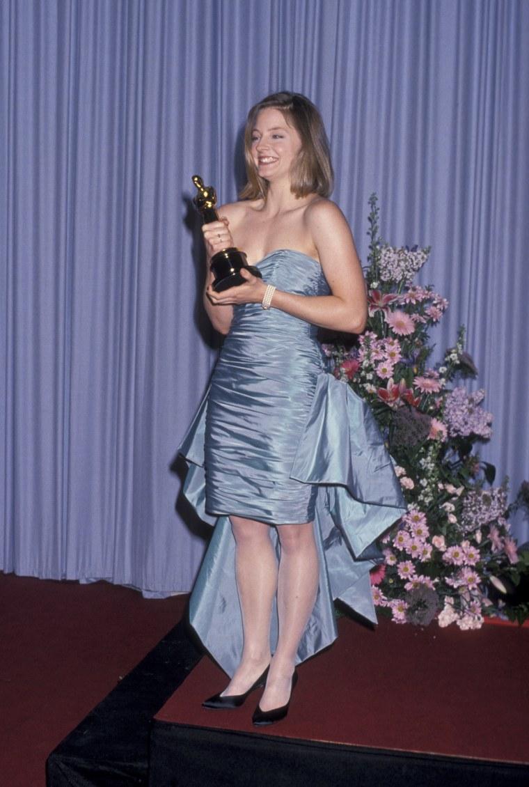 Jodie Foster Oscars 1989