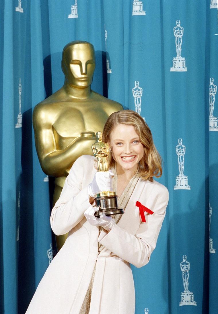 Jodie Foster Oscars 1992
