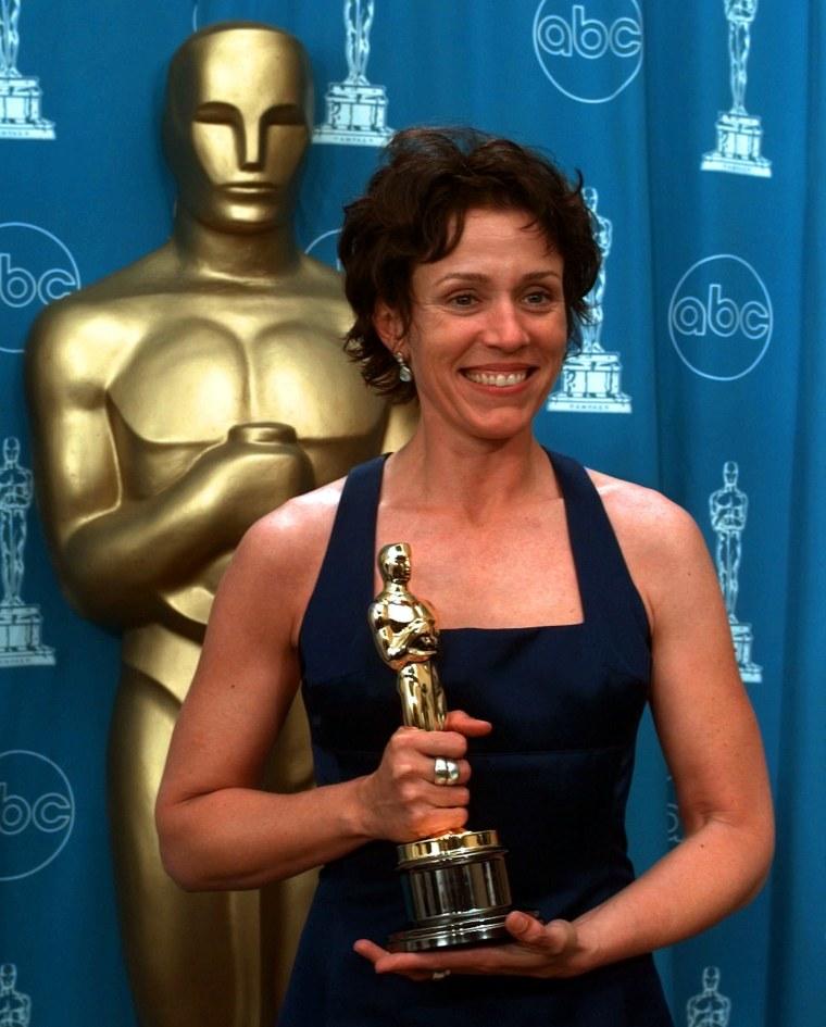 Frances McDormand Oscars 1997
