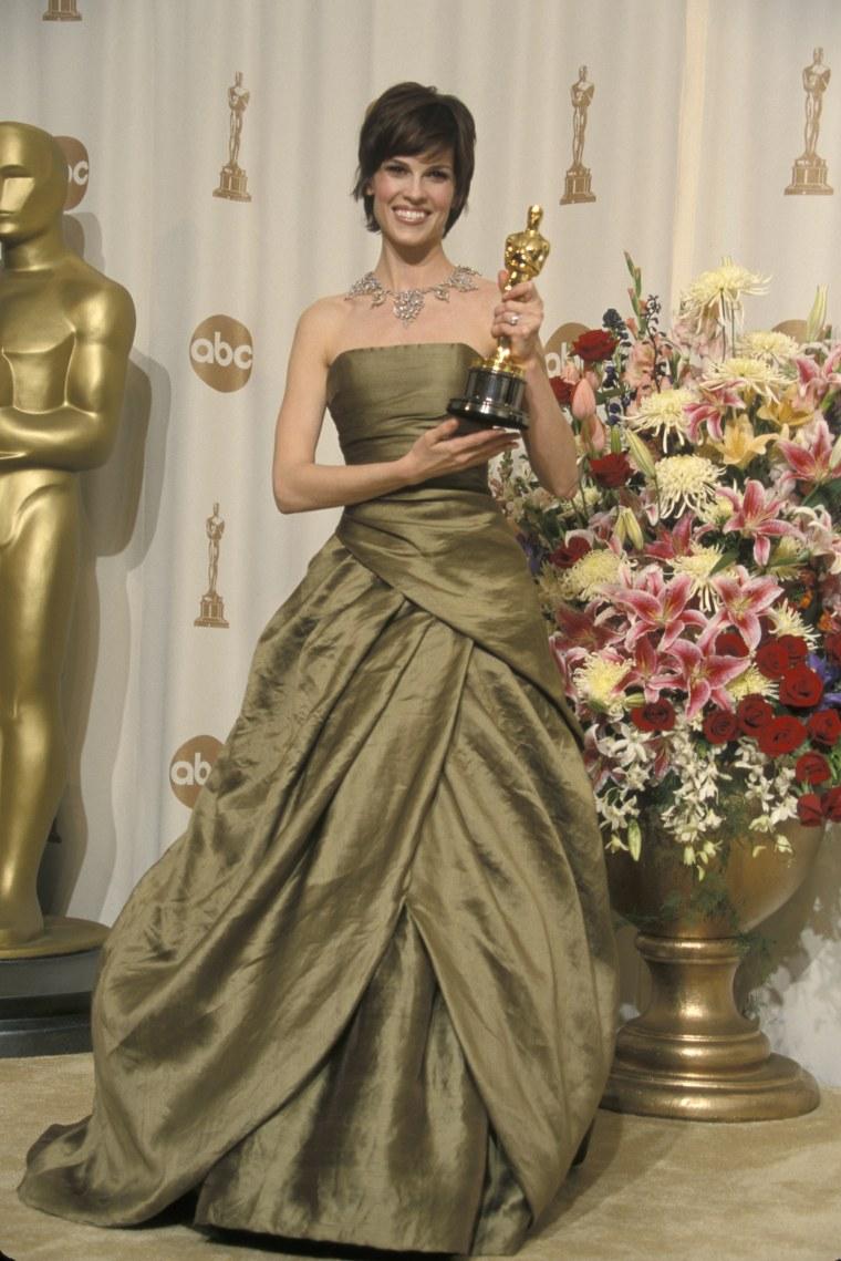 Hillary Swank Oscars 2000