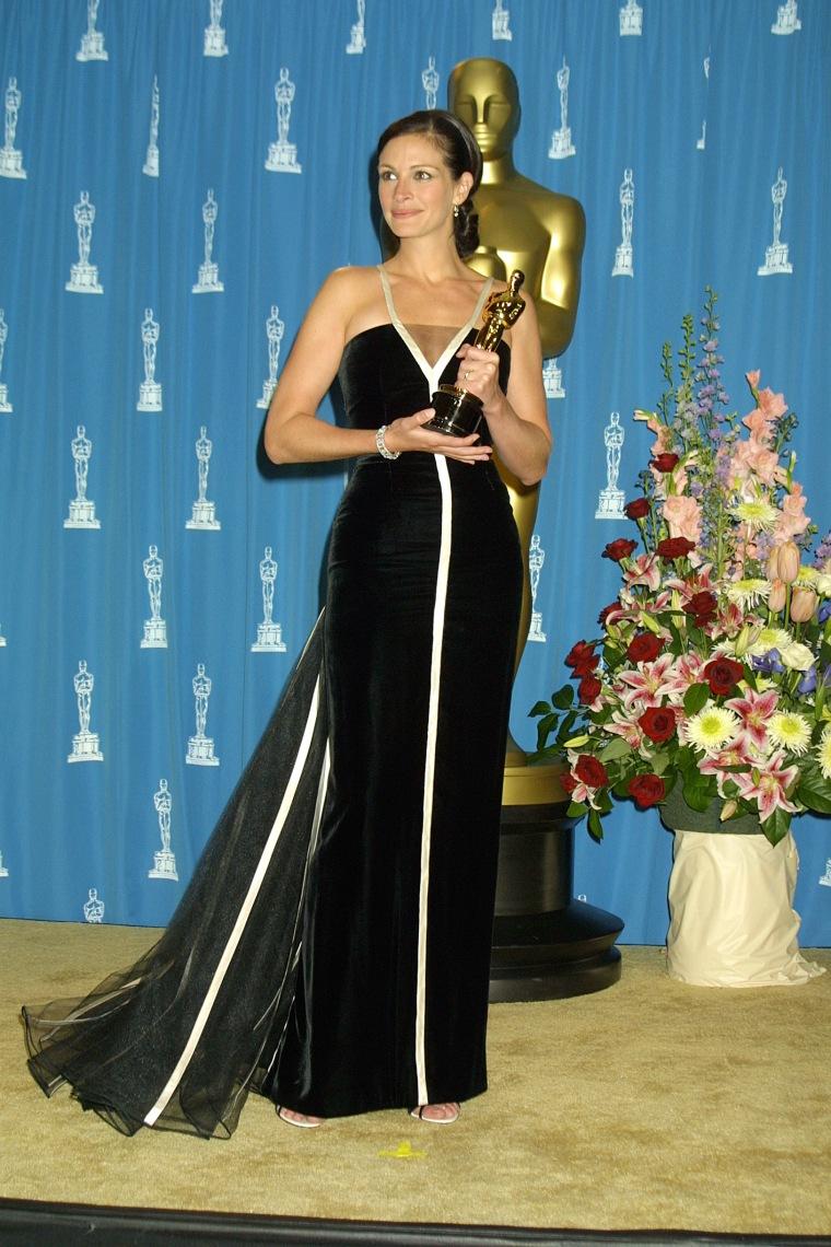 Julia Roberts Oscars 2001