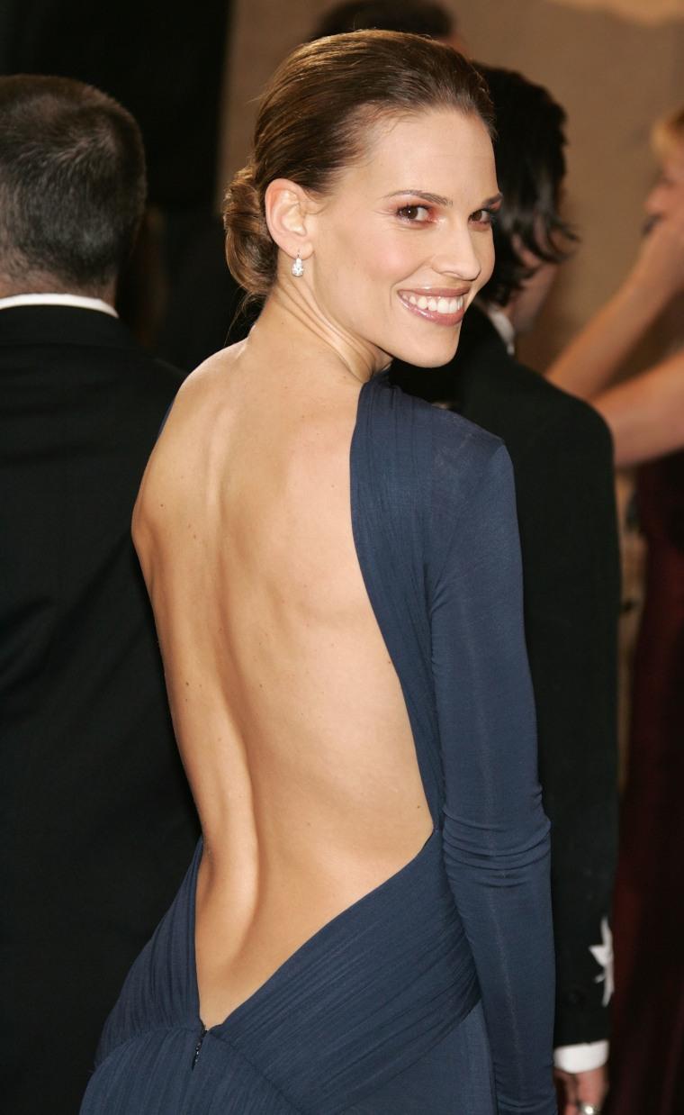 Hillary Swank Oscars 2005