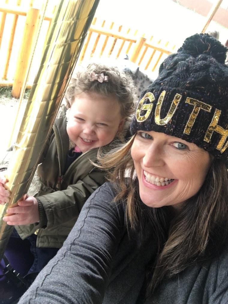 Savannah Guthrie and baby Vale