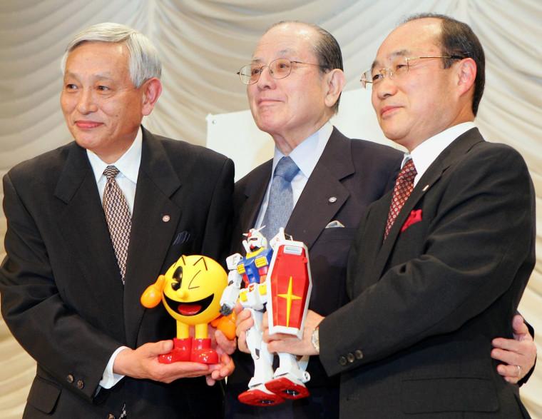 Image: FILES-JAPAN-GAMES-NAMCO-NAKAMURA-PACMAN