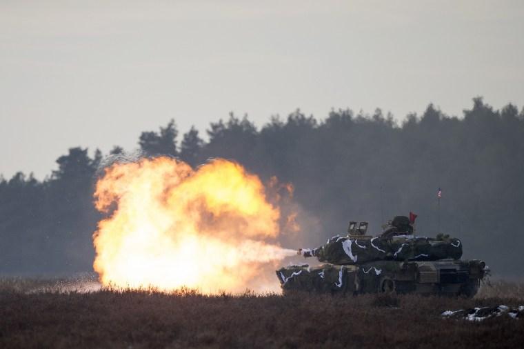 Image: POLAND-US-NATO-ATLANTIC-RESOLVE-DEFENCE