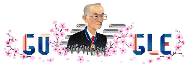 The Google Doodle honoring Fred Korematsu