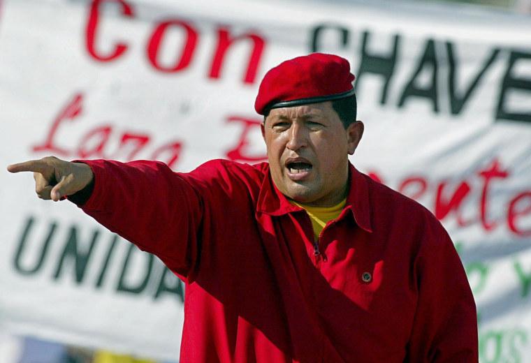 Image: VENEZUELA-CHAVEZ-OBIT-FILES