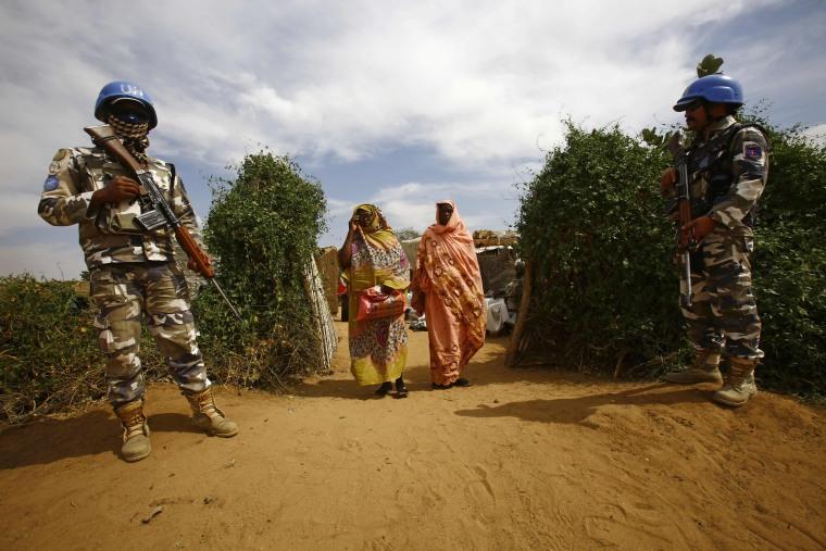 Image: SUDAN-BRITAIN-DIPLOMACY-AID