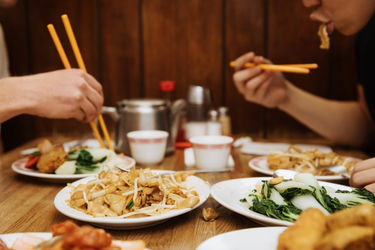 Diners at Capital Restaurant in San Francisco's Chinatown
