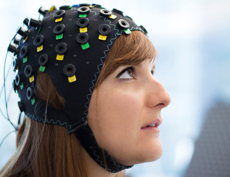 Image: The NIRS/EEG brain-computer interface system
